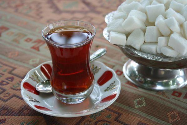 калорийность чая с сахаром 3 ложки