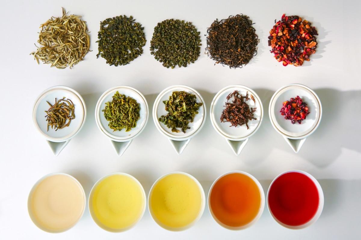 основные сорта чая