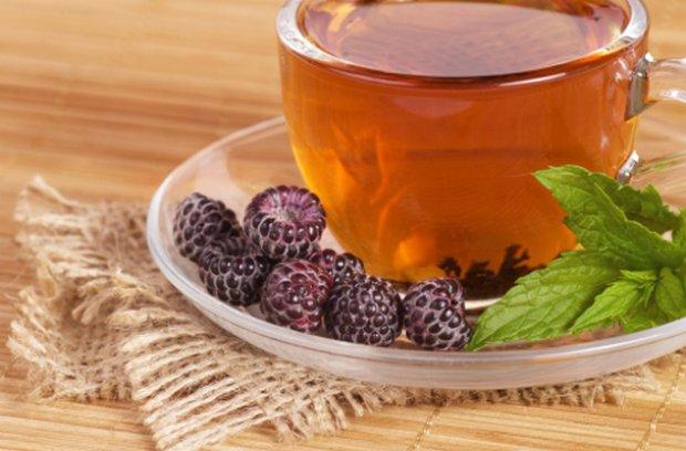 Чай из ежевики