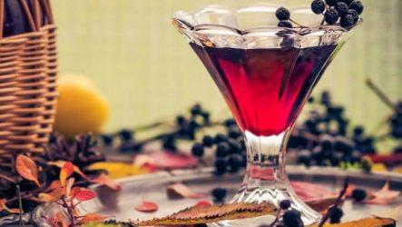 Настойка из черноплодной рябины: польза, приготовление