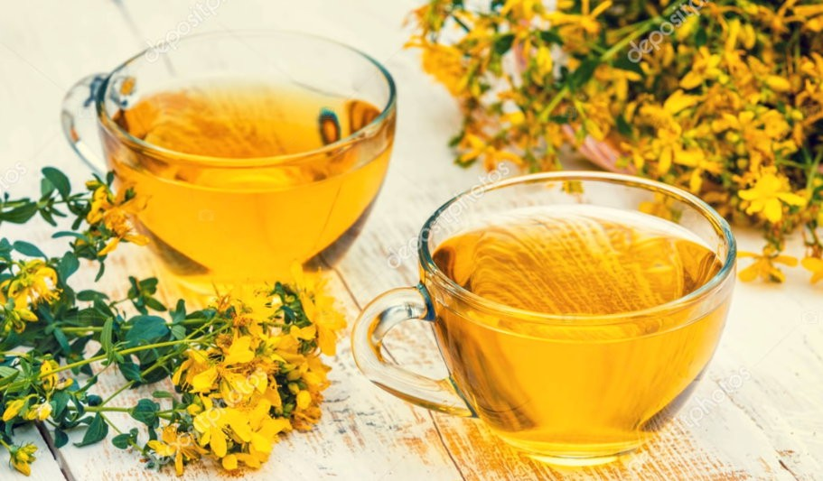 Чай из зверобоя для здоровья