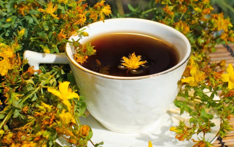 Чай из зверобоя при диарее