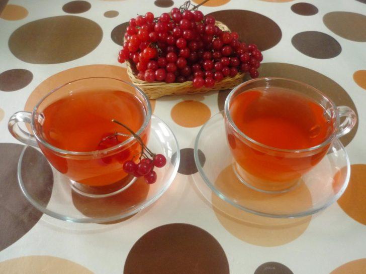 калиновый чай