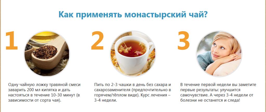 Как использовать монастырский чай